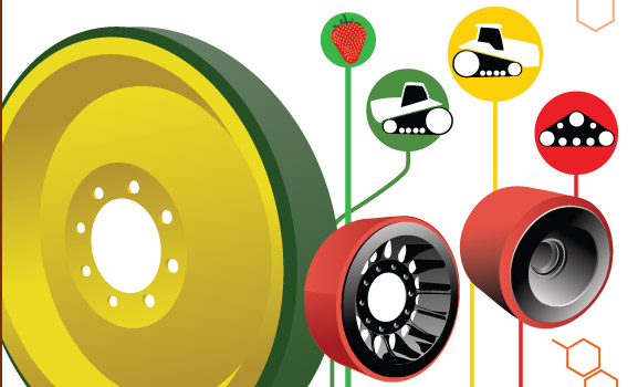 The Benefits of Remolding Poly Wheels for Heavy-Duty Casters.